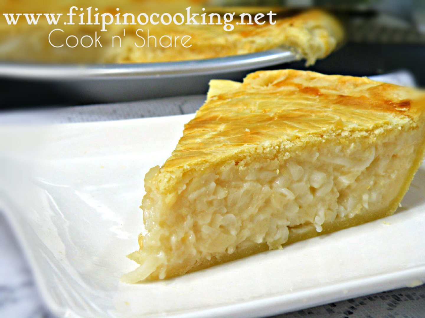 Buko (Coconut) Pie