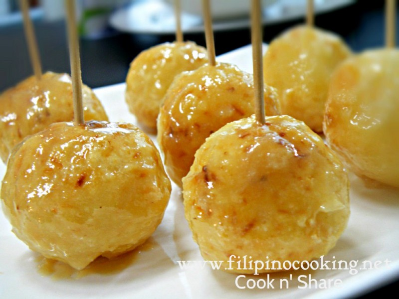 Carioca filipino sweet rice balls cook n share world cuisines carioca forumfinder Images