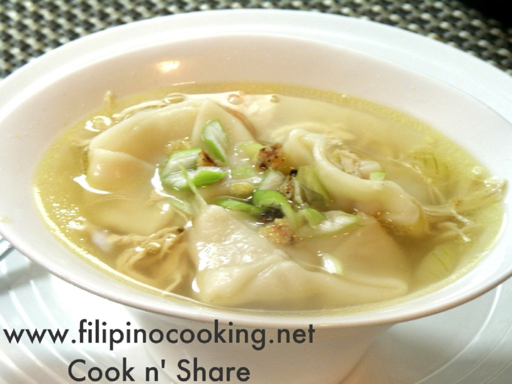 Molo Soup (Pancit Molo) | Cook n' Share - World Cuisines