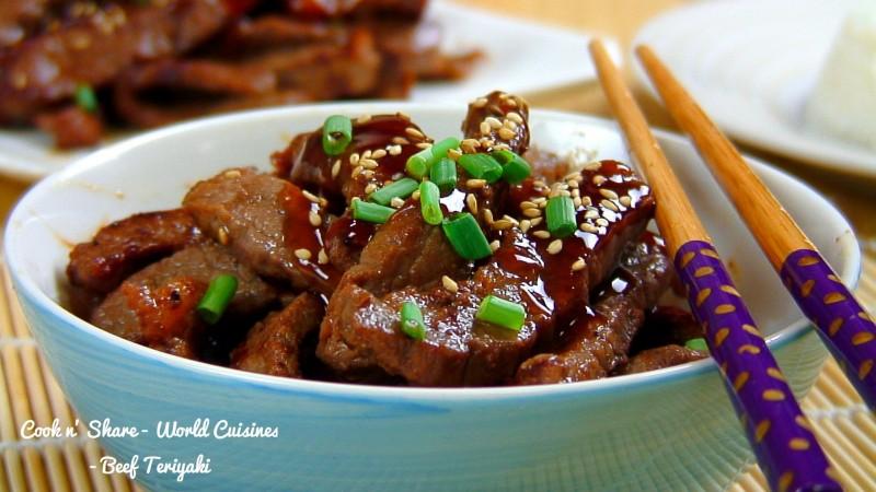 Beef Teriyaki | Cook n' Share - World Cuisines