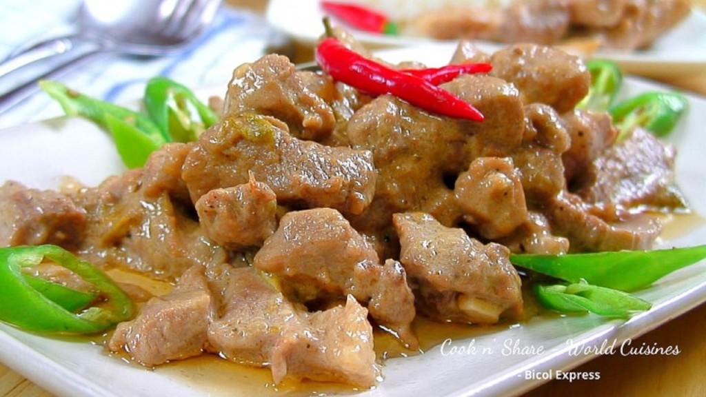 Bicol Express | Cook n' Share - World Cuisines