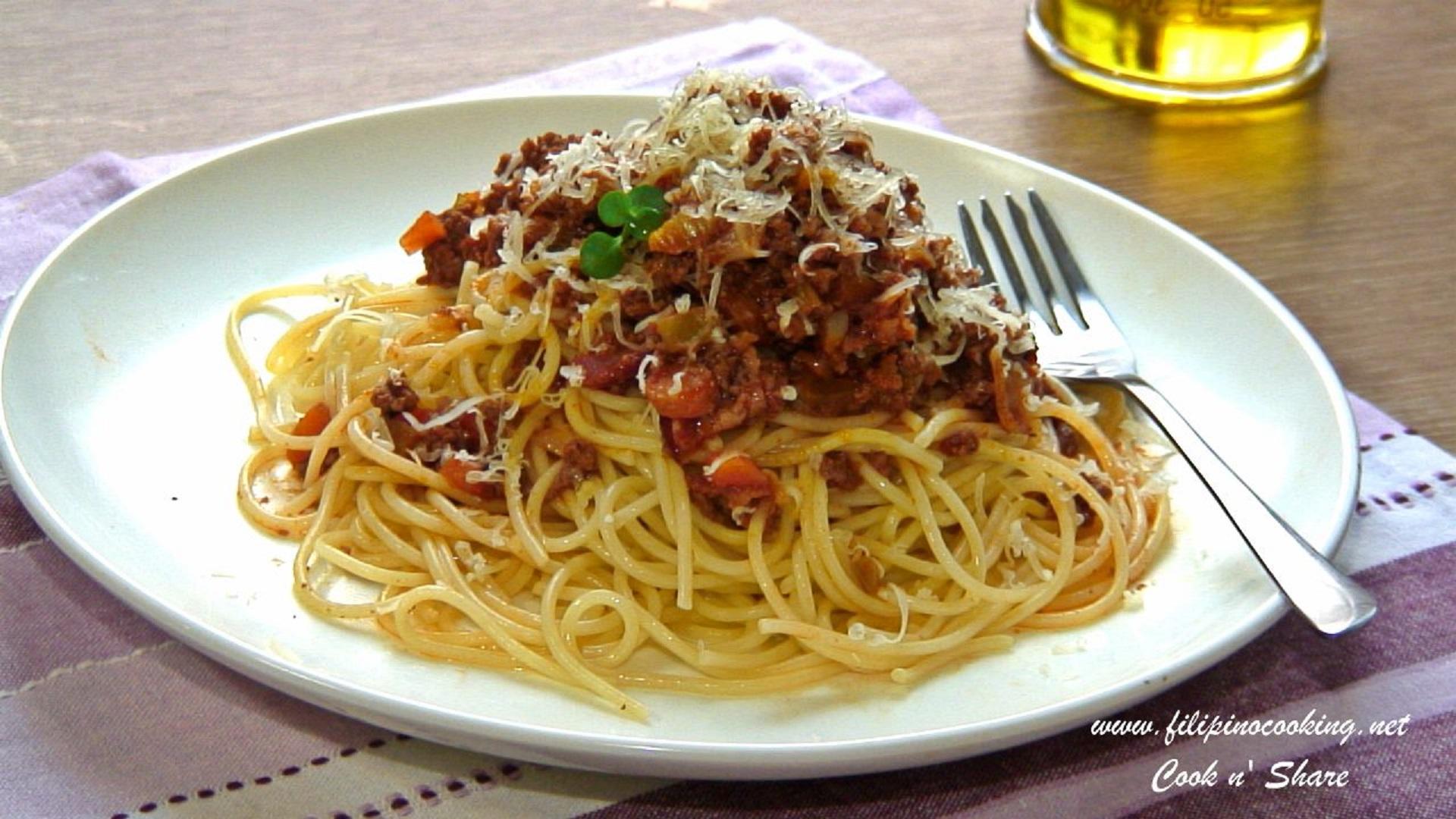 Italian Sausage Spaghetti - Cook2eatwell
