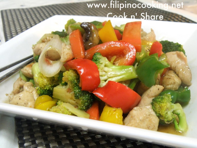 Filipino Chopsuey | Cook n' Share - World Cuisines