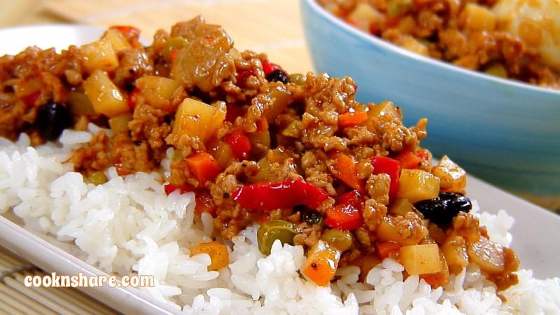 Asian ground pork recipes much