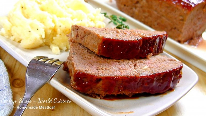 homemade meatloaf