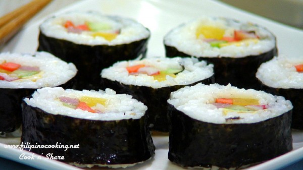Kimbap – Korean Rice Rolls
