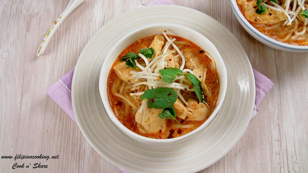 Chicken Laksa | Cook n' Share - World Cuisines