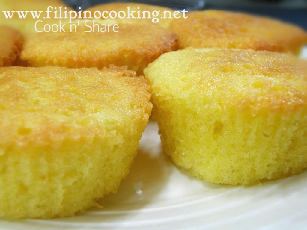 Sponge Cake Recipe Pinoy
