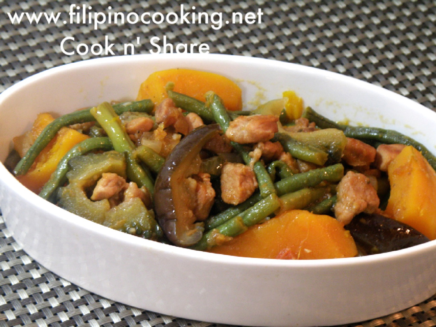 Pinakbet Cook N Share World Cuisines