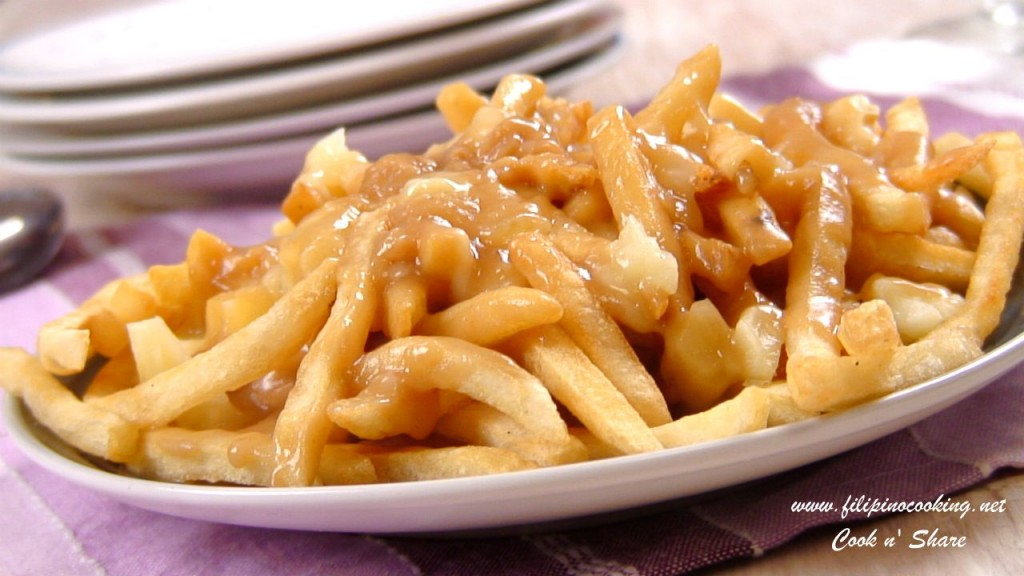 Easy Poutine | Cook n' Share - World Cuisines