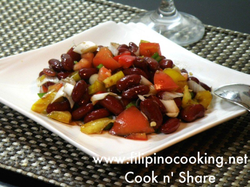 red kidney beans salad
