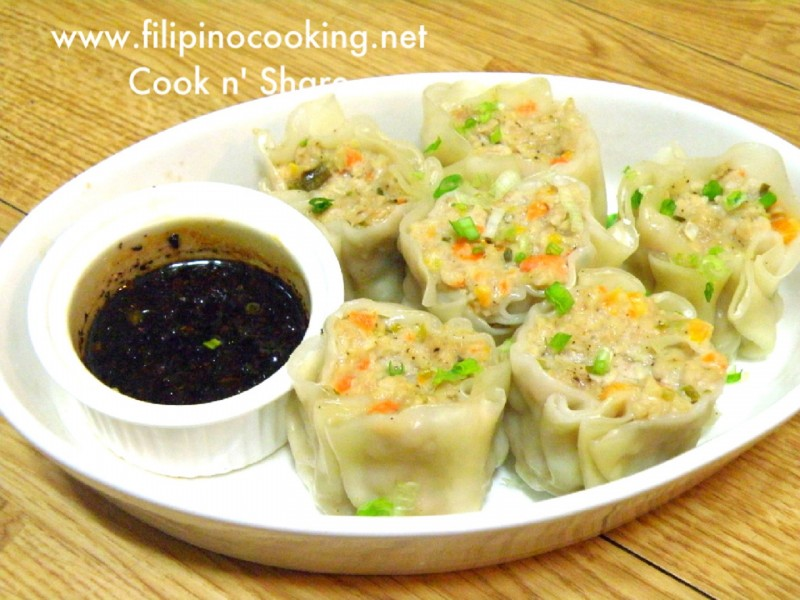 Mely S Kitchen Siomai Recipe