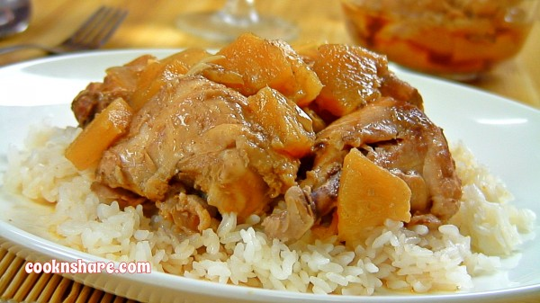 Slow Cooker Soy Pineapple Chicken