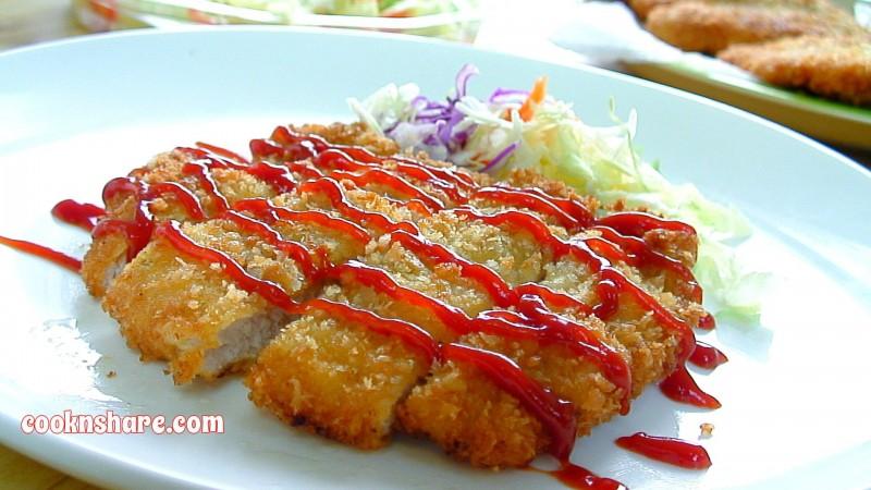 Pork cutlets or pork tonkatsu originated in Japan. It consists of a ...