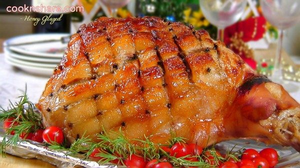 Honey Glazed Pork Roast Leg