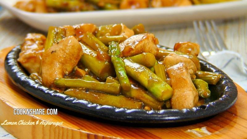 Lemon Chicken and Asparagus Stir Fry | Cook n' Share - World Cuisines