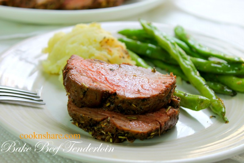 how to cut up a beef tenderloin