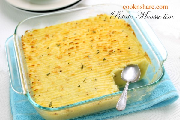 Creamy Mashed Potatoes – Potatoes Mousseline