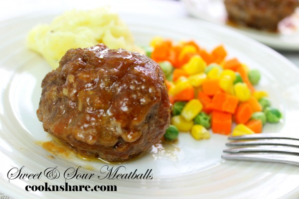 Sweet and Sour Muffin Pan Meatballs