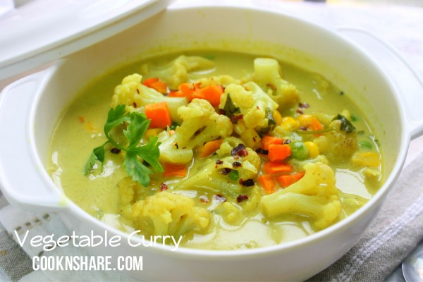 Vegetable Curry Soup