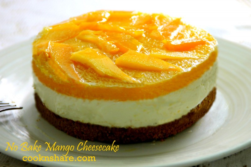 How To Make A Mango Cake At Home
