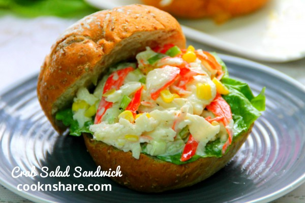 Crab Salad Sandwich