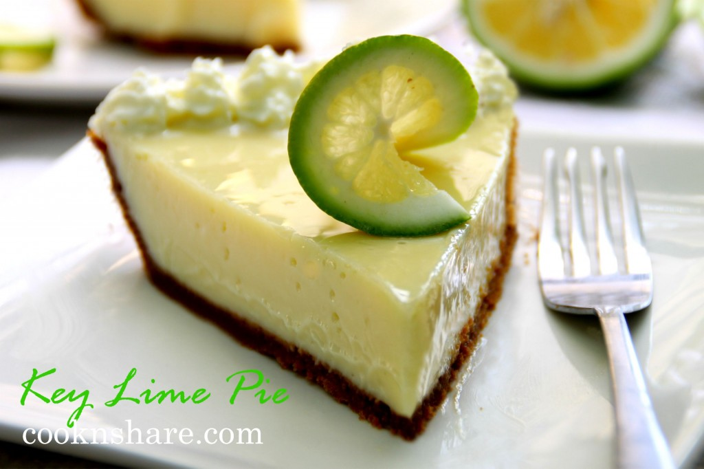 Key Lime Pie | Cook n' Share - World Cuisines