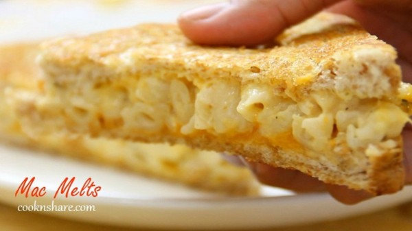 Grilled Macaroni and Cheese – Mac Melts