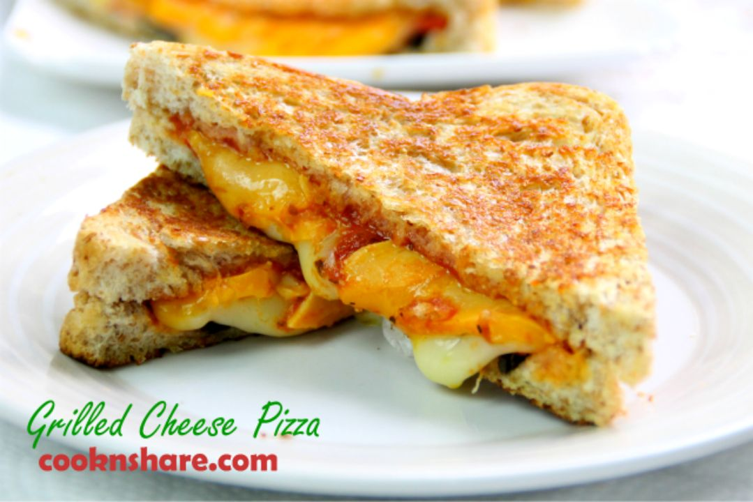 grilled cheese piza