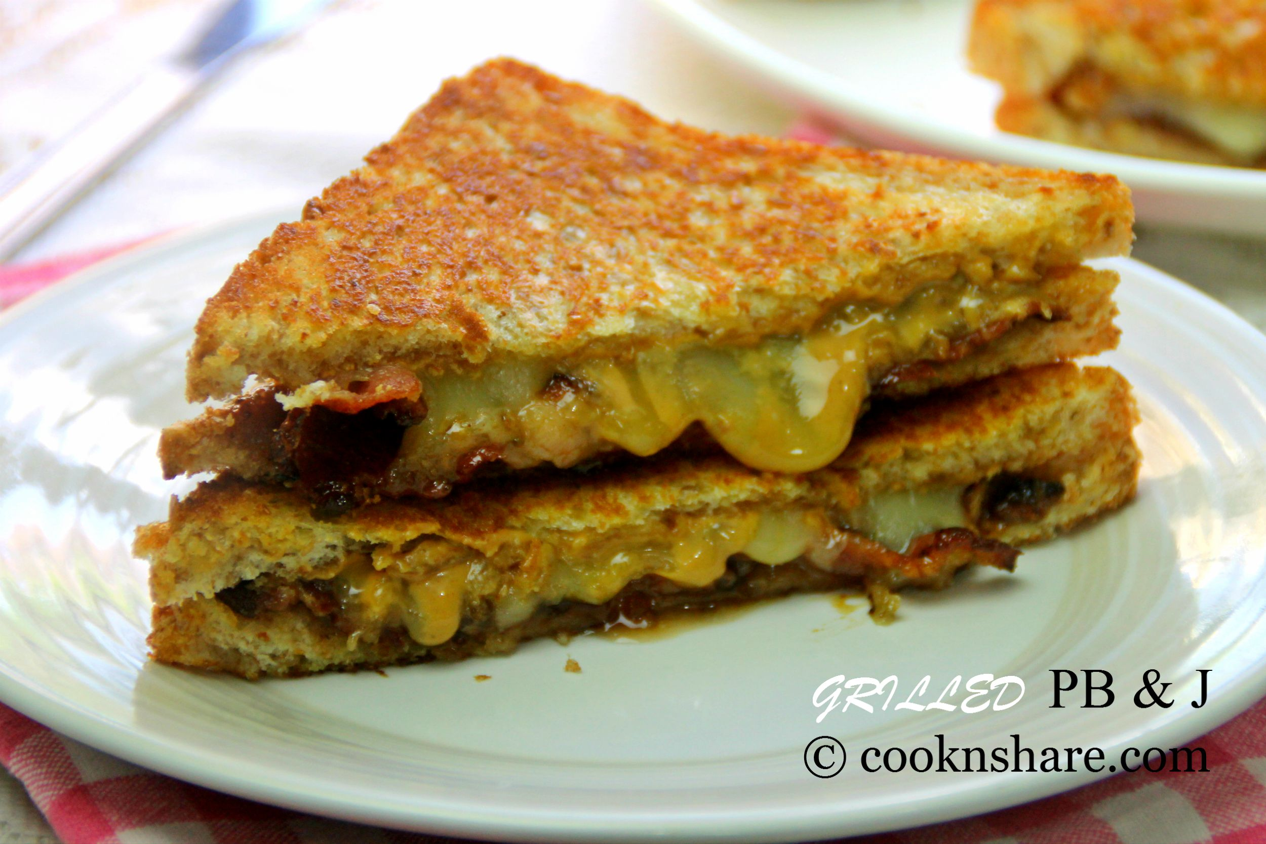 Peanut Butter And Jelly With Bacon Cook N Share World Cuisines