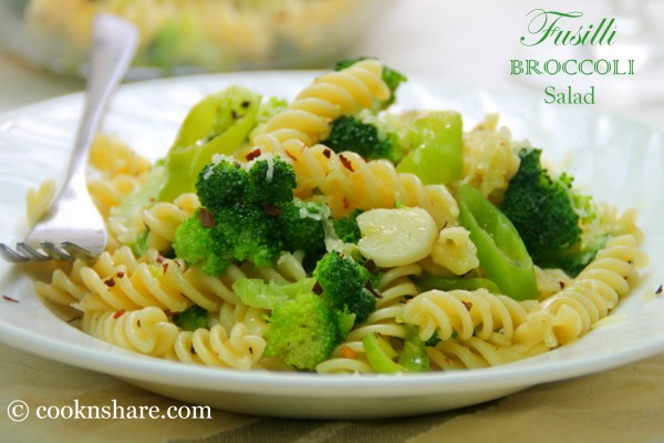 Fusilli and Broccoli