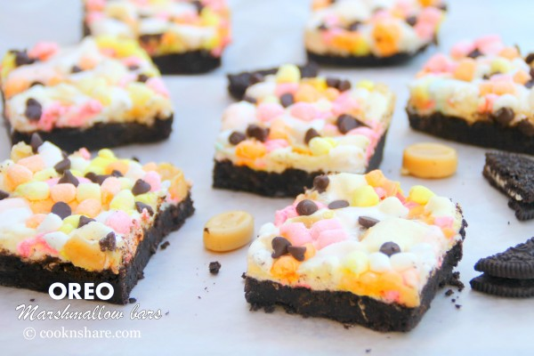 Oreo Marshmallow Bars