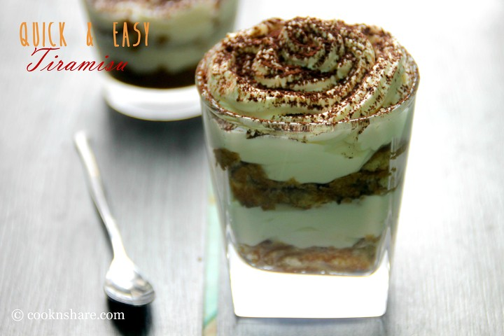 Easy Tiramisu Trifles Recipe — Dishmaps