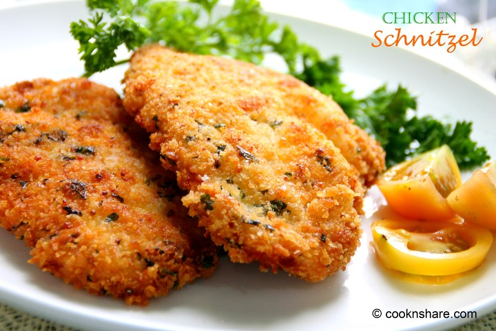 Chicken Schnitzel Cook N Share World Cuisines
