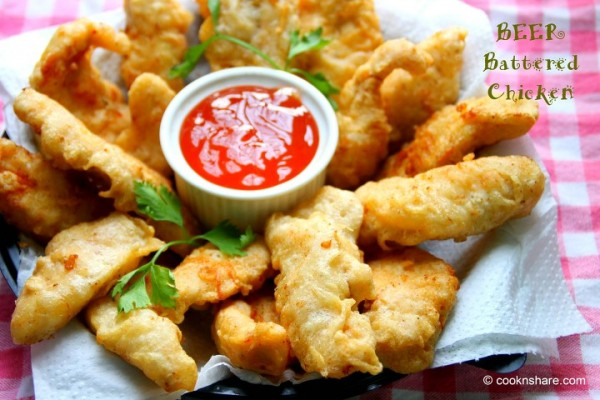 Beer Batter Chicken