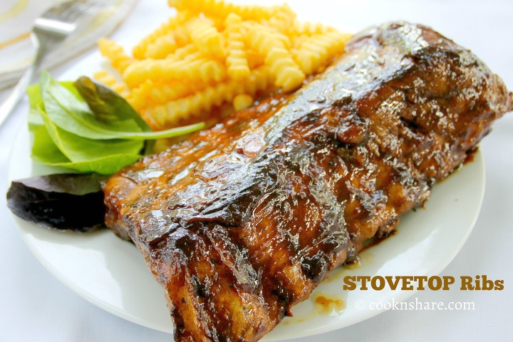 stove top ribs