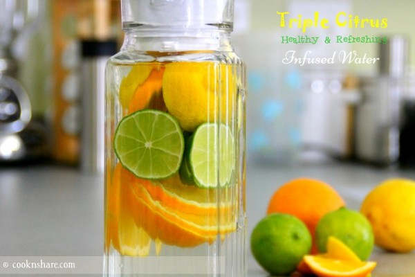 Triple Citrus Infused Water