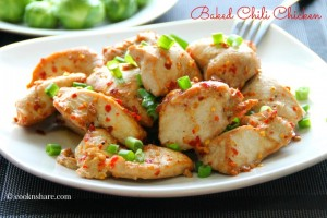 baked chili chicken