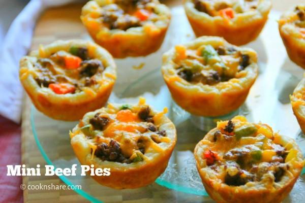 Mini Beef Pies