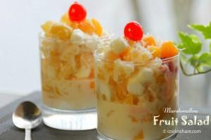 marshmallowfruitsalad