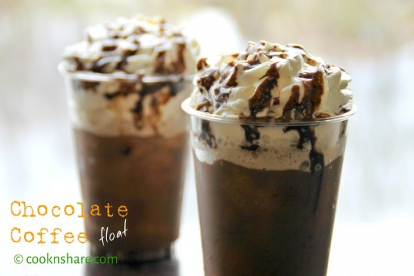 Chocolate Coffee Float