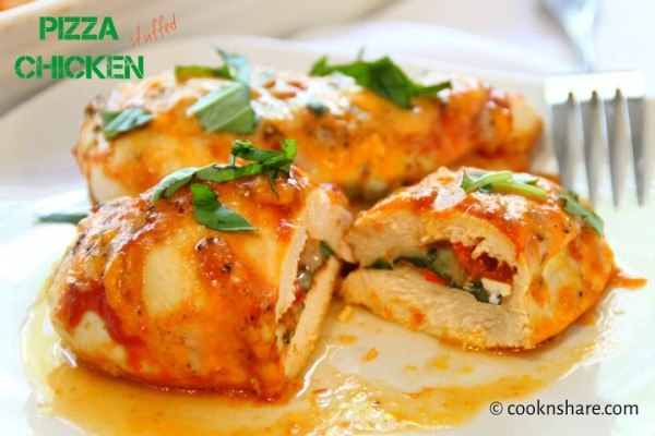 Chicken Stuffed Pizza