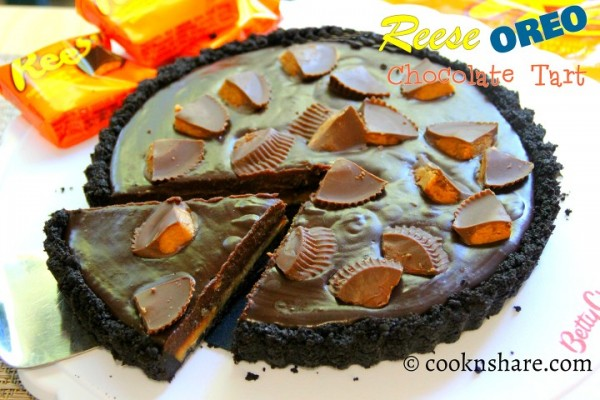 Oreo Reese's Chocolate Tart