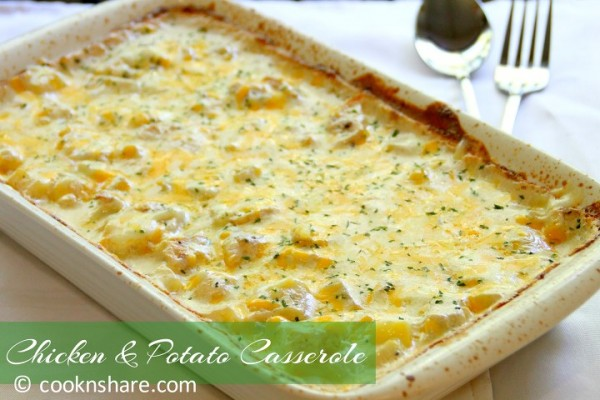 Chicken Potato Casserole