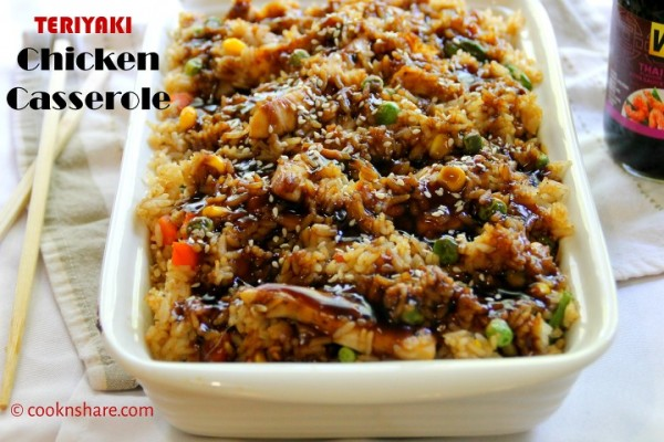 Chicken Teriyaki Casserole