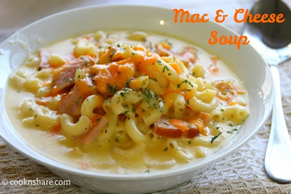 Mac and Cheese Soup