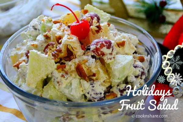 Fruit Salad with Pecans