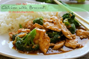 One Pan Chicken with Broccoli