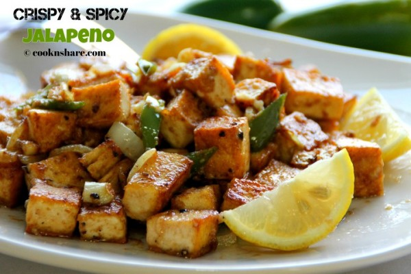 Crispy and Spicy Tofu