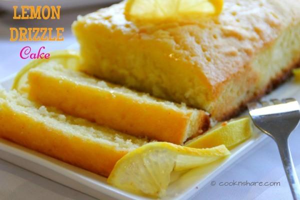 Luscious Lemon Drizzle Cake